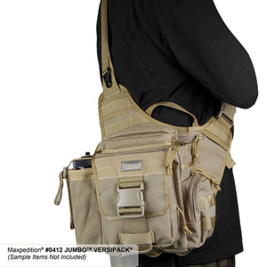 Maxpedition Jumbo Versipack, Fitted