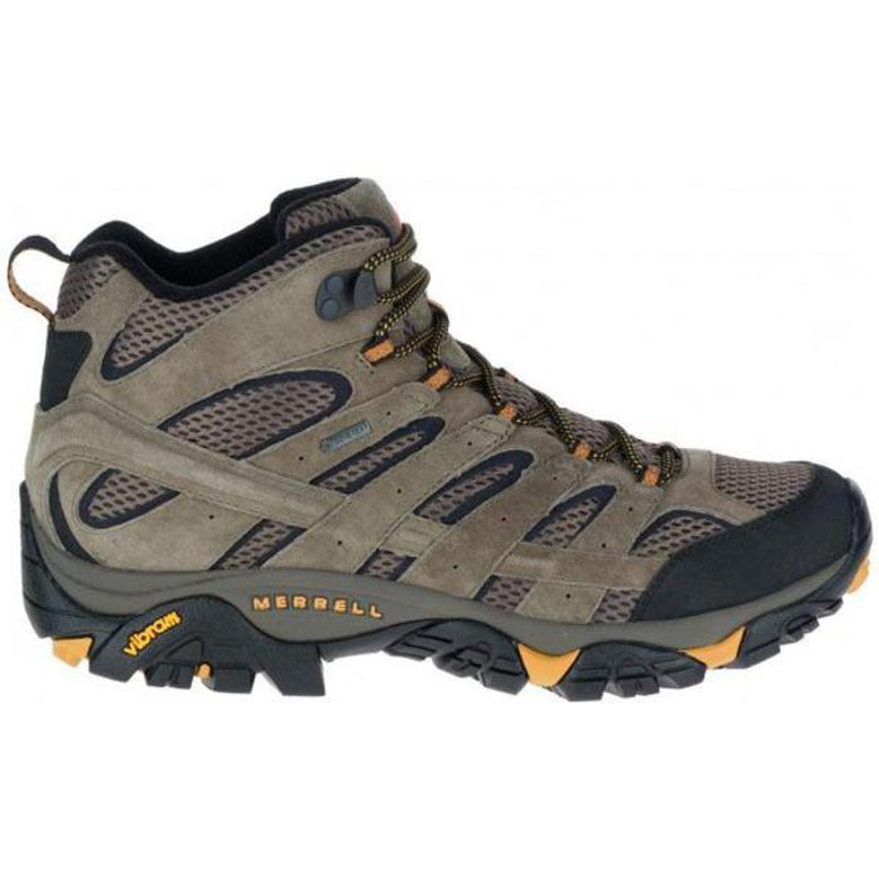 Merrell Moab 2 LTR Mid WP Gore-Tex Men's Hiking Boots - Walnut