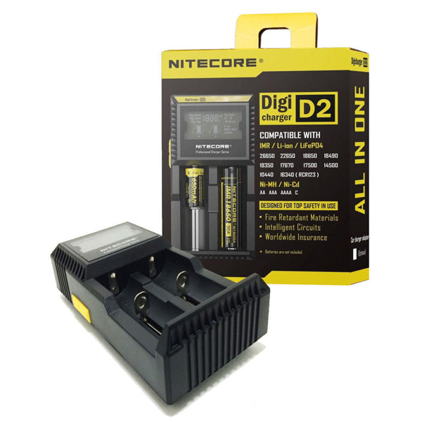 Nitecore Digicharger D2 Battery Charger