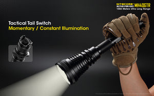 Nitecore MH40GTR - 1200 Lumen LED Rechargeable Torch