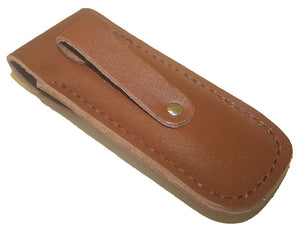 Pacific Cutlery Leather Knife Pouch Large (120mm Knives)