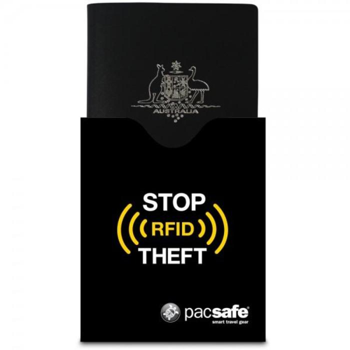 PACSAFE RFIDsleeve 50 RFID Blocking Passport Protector Sleeve