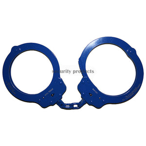 Peerless 7030 Oversize Chained Handcuffs - Blue