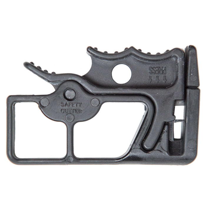 Plastic Restraint Safety Cutter - Black