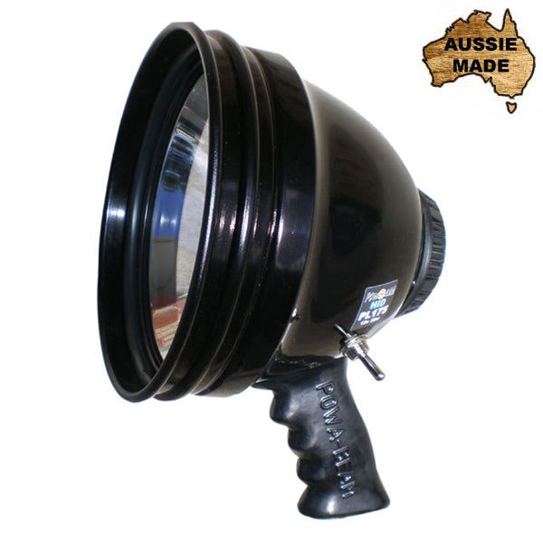 "Powa Beam 7"" HID High Intensity Discharge Handheld Spotlight"