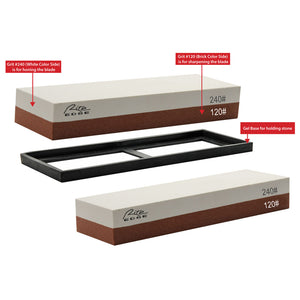 Rite Edge Dual Sided Sharpening Stone 120/240 Grit