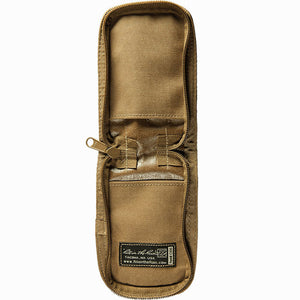 "Rite in the Rain 3"" x 5"" Zippered Cordura Notebook Cover Tan, Open"