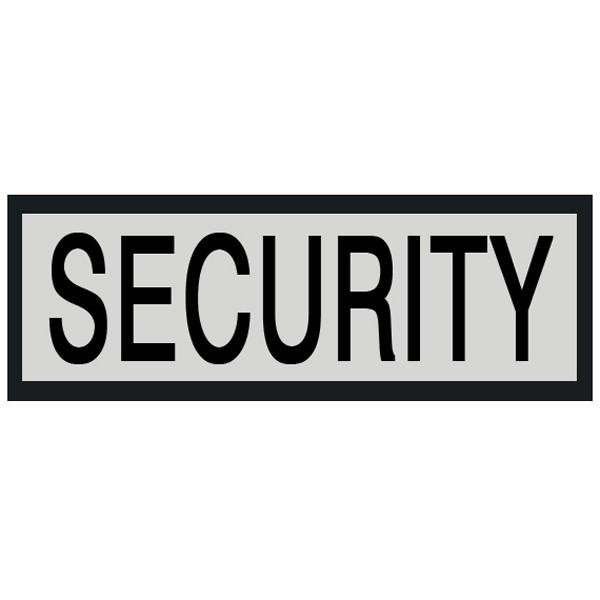 Damascus Velcro Backed Reflective Security Name Plate