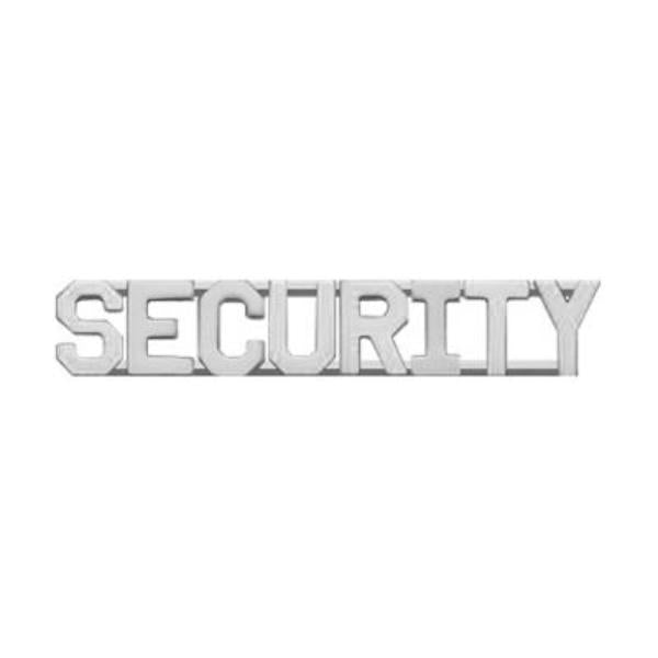 PRO-DUTY Security Collar Insignia - Nickel Plated
