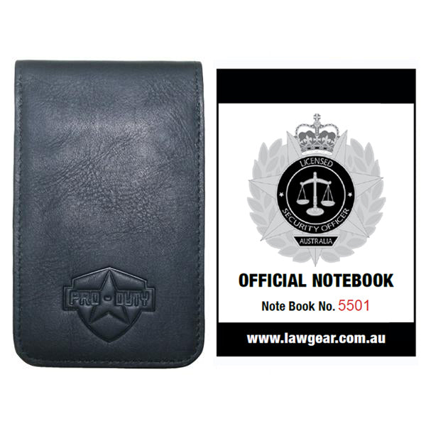 PRO-DUTY Security Officer Crowd Controller Australia Official Notebook Kit