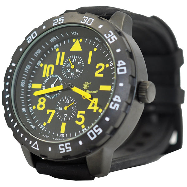 Smith & Wesson Calibrator Watch Yellow