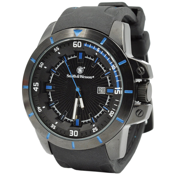Smith & Wesson Trooper Watch Blue