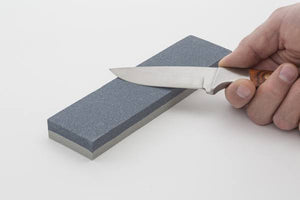 "Smith's 8"" Dual Grit Combination Sharpening Stone, Coarse Grit"