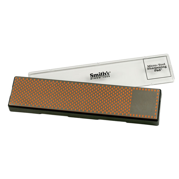 "Smith's 29cm/11.5"" Diamond Sharpening Bench Stone - Fine Grit Orange"
