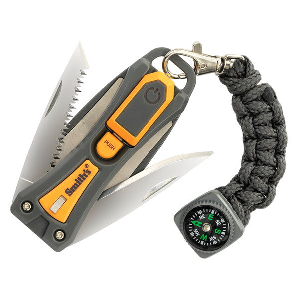 Smith's Pack Pal 10-N-1 Outdoor Survival Multi-Tool