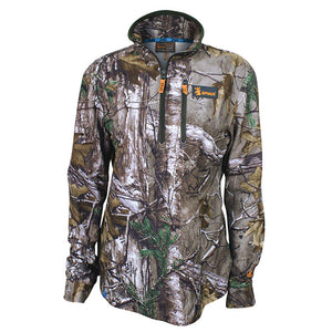 Spika Womens Tracker Long Sleeve Top - Realtree Xtra