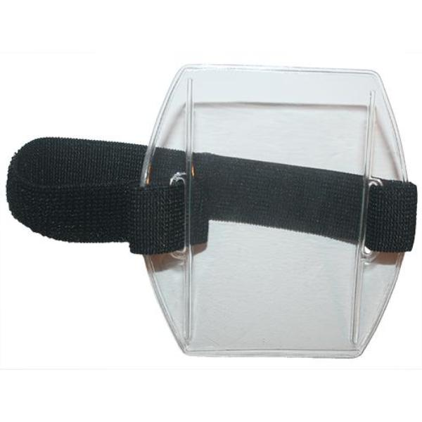 PRO-DUTY Armband Identification Holder Portrait - Black Band
