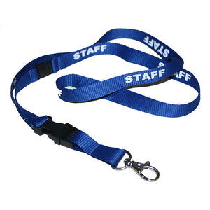 Staff Printed Neck Lanyard