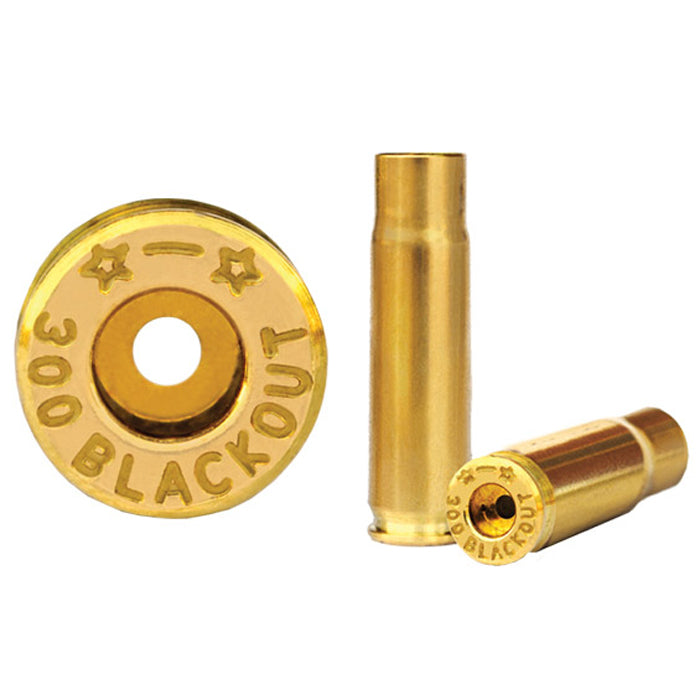STARLINE Unprimed Brass Cases 300 BLACKOUT - 50 Pack (Small Rifle Primer)