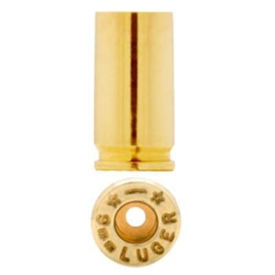 STARLINE Unprimed Brass Cases 9MM LUGER (Small Pistol Primer)