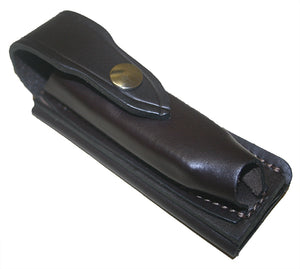 Jcoe Stockman's Horizontal Genuine Leather Knife Pouch (125mm Knives)