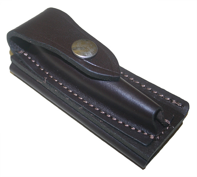Jcoe Stockman's Horizontal Genuine Leather Knife Pouch Medium (100-105mm Knives)