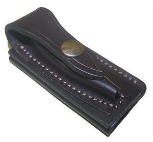 Jcoe Stockman's Horizontal Genuine Leather Knife Pouch (80-90mm Knives)