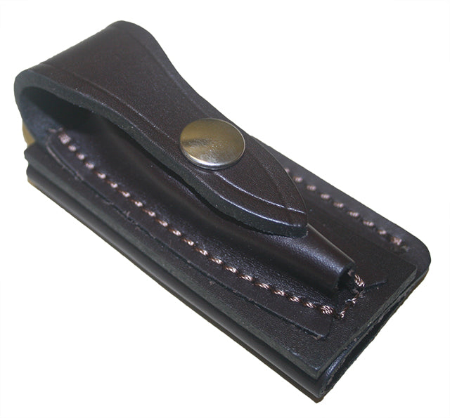 Jcoe Stockman's Horizontal Genuine Leather Knife Pouch Small (80-90mm Knives)