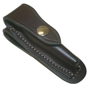Jcoe Stockman's Vertical Genuine Leather Knife Pouch Medium (100-105mm Knives)