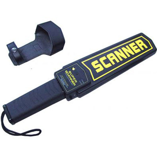 Super Scanner Hand Held Metal Detector