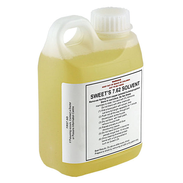 Sweet's 7.62 Bore Cleaning Solvent Bottle 1 Litre