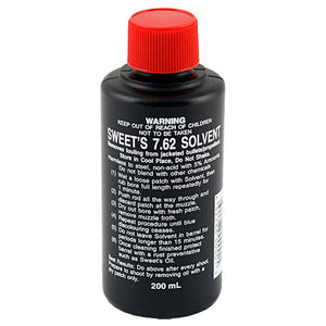 Sweet's 7.62 Bore Cleaning Solvent Bottle 200ml
