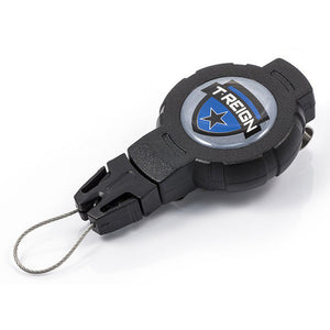 T-REIGN Retractable Gear Tether Clip - MEDIUM