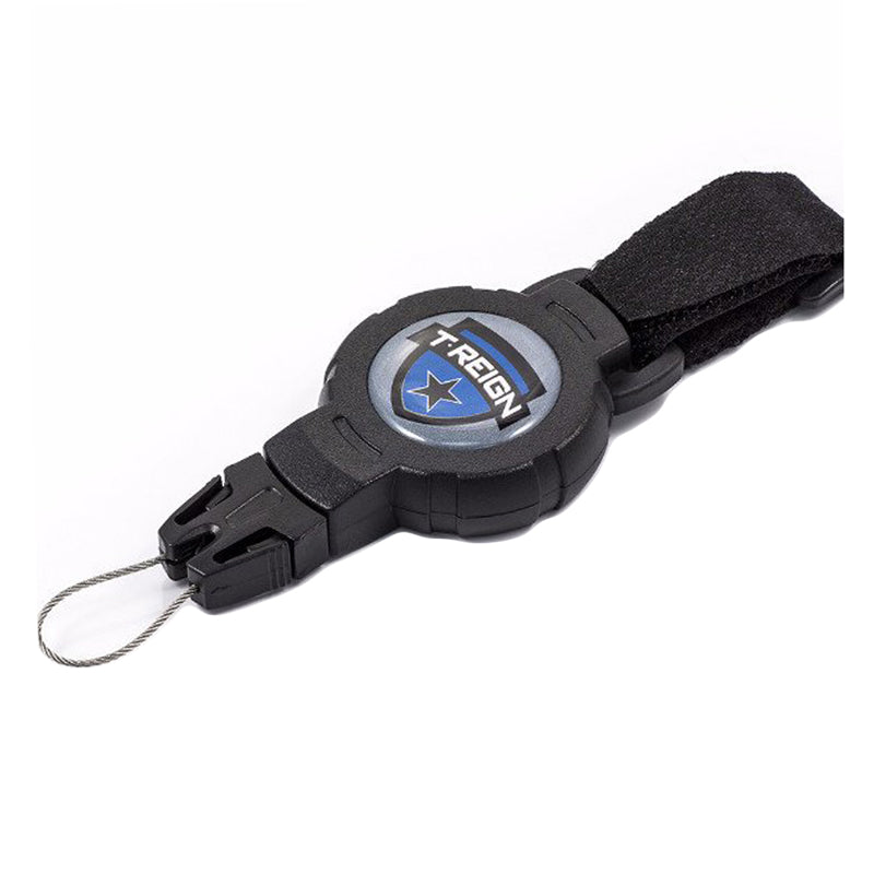 T-REIGN Retractable Gear Tether Velcro Strap - MEDIUM