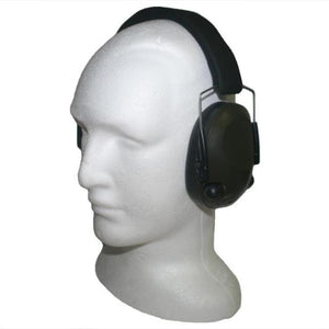 Night Prowler Low Profile Electronic Ear Muffs - Olive Drab