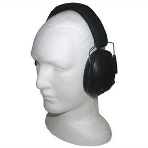 Night Prowler Low Profile Electronic Ear Muffs - Black