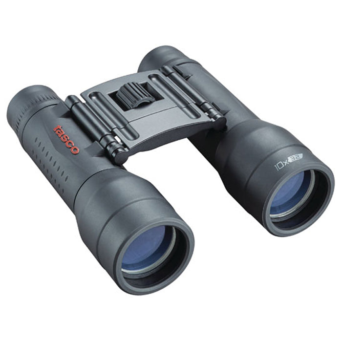 Tasco 10x32 Essentials Mid-Size Rubber Coated Binoculars