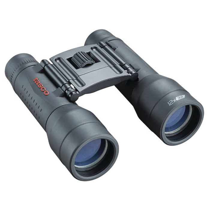 Tasco 12x32 Essentials Mid-Size Rubber Coated Binoculars