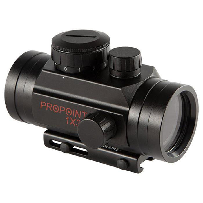 Tasco ProPoint 1x30 Red Dot Illuminated Gun Sight TRD130T