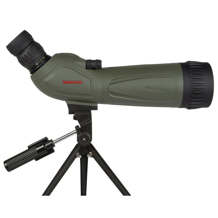 Tasco World Class 20-60x80mm Rubber Coated Angled Spotting Scope