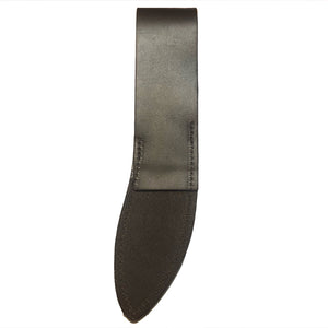 Tawonga Leather Sheep Skinning Knife Sheath, Rear