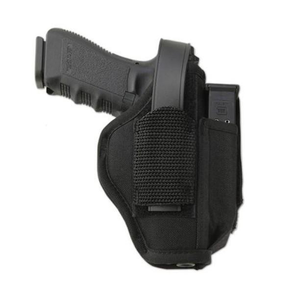 "Uncle Mike's Size 1 Sidekick Ambidextrous Hip Holster - Suits 3-4"" Barrel Medium Autos"