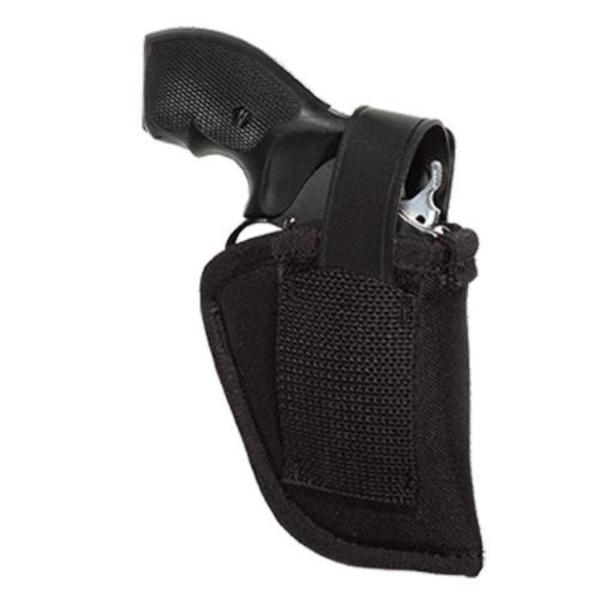 "Uncle Mike's Size 36 Sidekick Ambidextrous Hip Holster - Suits 2-3"" Barrel Small Frame 5 Shot Revolvers w/Hammer Spur"