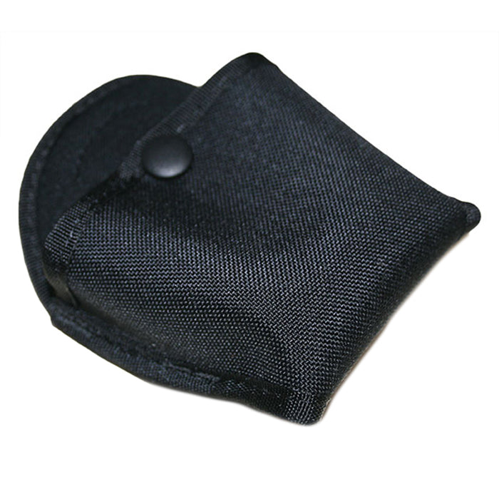 Uncle Mike's Nylon Open Top Clip Handcuff Pouch