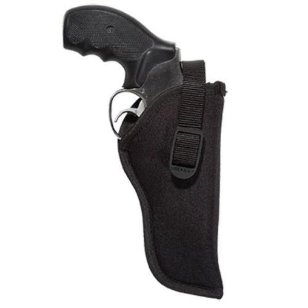 "Uncle Mike's Size 2 Sidekick Hip Holster - Suits 3-4"" Barrel Medium & Large Double Action Revolvers"