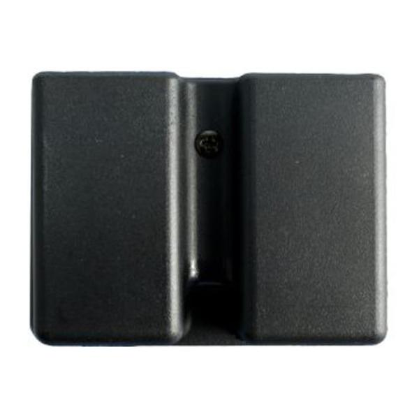 Uncle Mike's Kydex Double Magazine Case - Suits Most Single Stack 9mm/.40 Cal/.45 Cal Magazines
