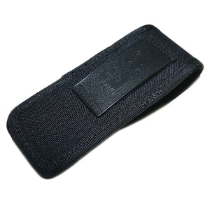 Uncle Mike's Nylon Single Magazine Pouch Single Row Stack, Rear