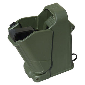 Maglula UpLULA Pistol Mag Loader & Unloader Suits 9mm to 45ACP - Dark Green