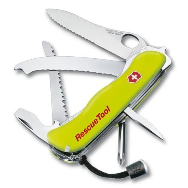 Victorinox RescueTool Swiss Army Pocket Knife - Phosphorescent Yellow