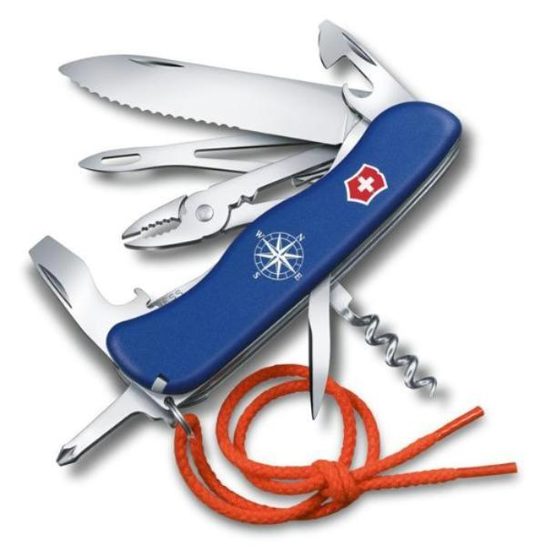 Victorinox Skipper Swiss Army Pocket Knife - Blue